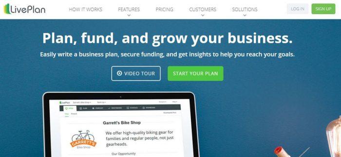 LivePlan business software