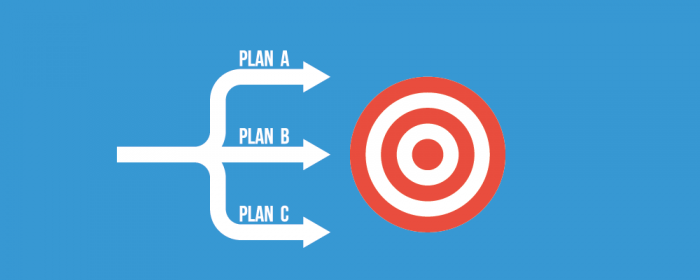 create a contingency plan