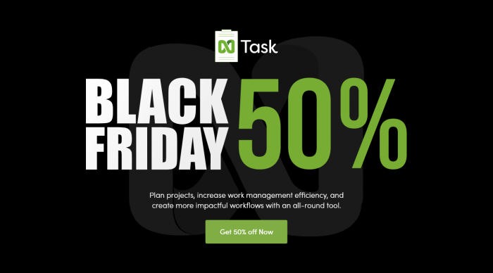 Black Friday nTask Post