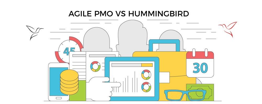 agile-pmo-vs-hummingbird