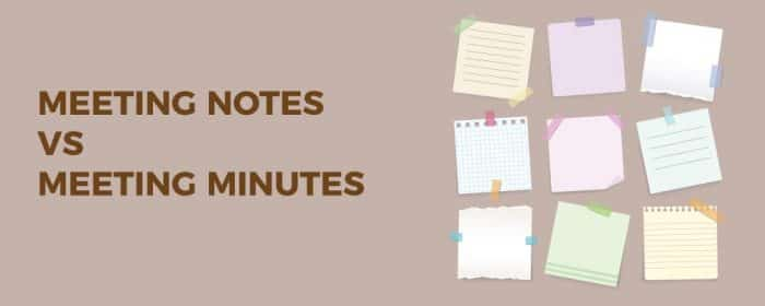 Meeting-notes-vs-meeting-minutes